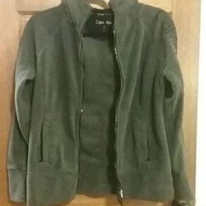 Calvin Klein zippered fleece